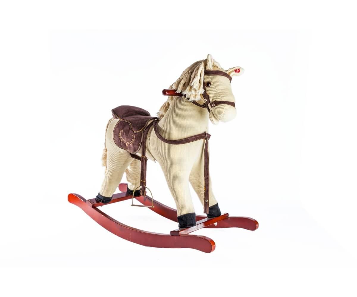 סוס עץ נדנדה לילדים