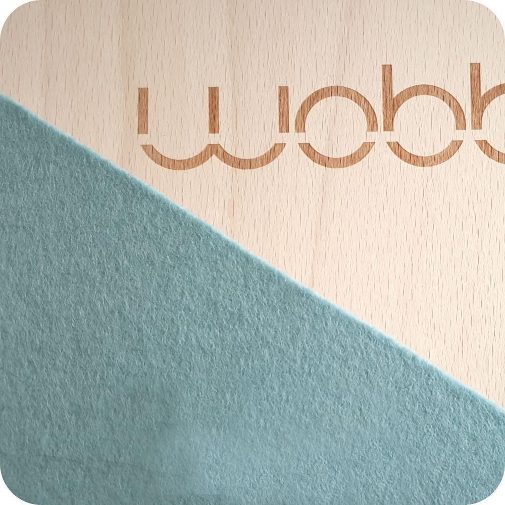 מגלשת עץ wobbel pro גון תכלת