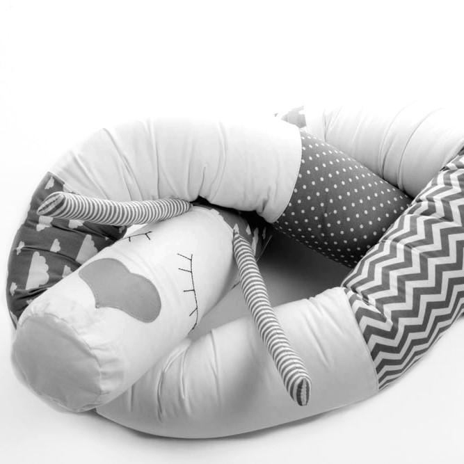 כרית נחשוש לתינוק דגם פרצוף