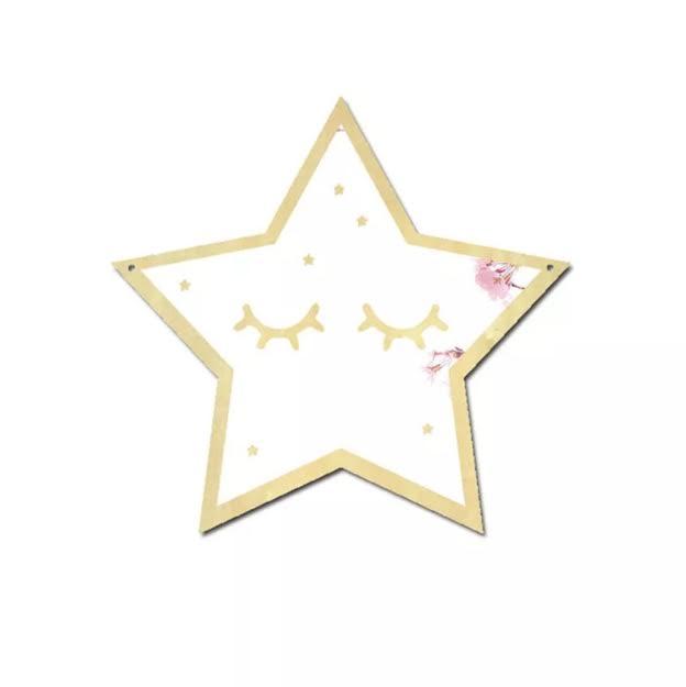 מראה לחדר ילדים דגם כוכב