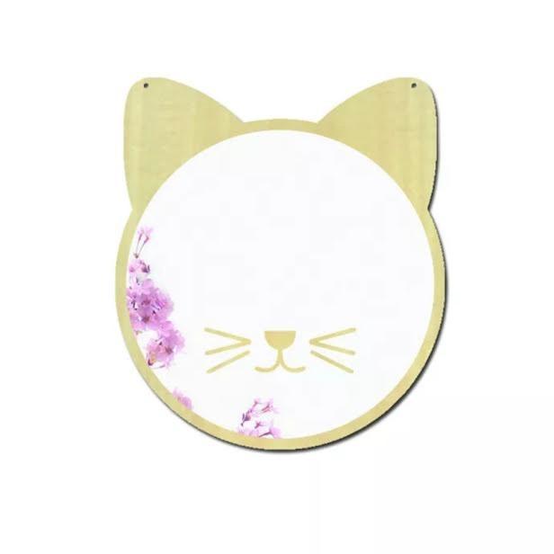 מראה לחדר ילדים דגם חתול