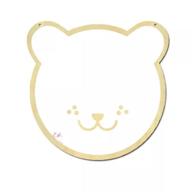 מראה לחדר ילדים דגם דוב פנדה