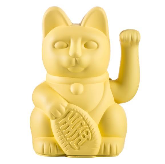 חתול המזל לאקי צהוב TOY