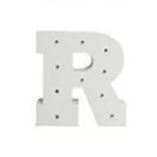 מנורת לילה אותיות באנגלית אות R