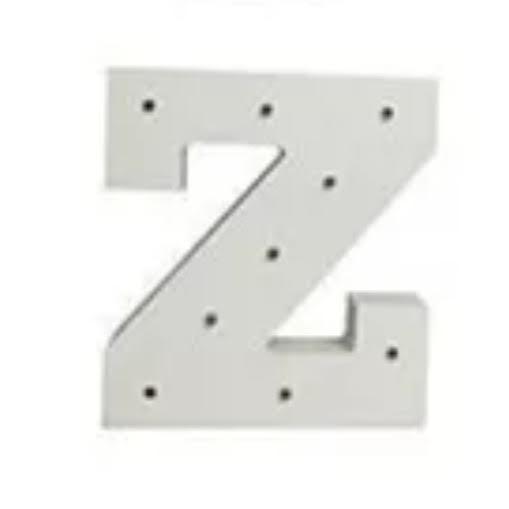 מנורת לילה אותיות באנגלית Z