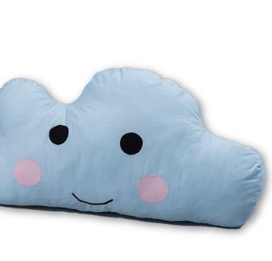 כרית ענן גדולה תכלת כרית בצורת ענן בצבע תכלת אקססוריז עיצוב חדר ילדים