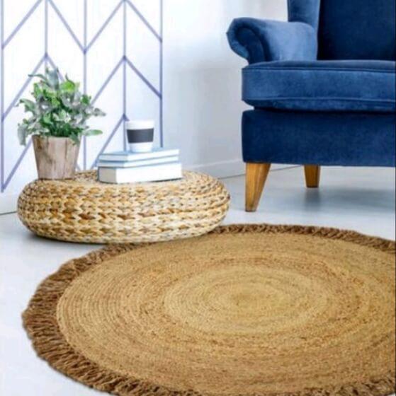 שטיח עגול מקש דגם איתמר