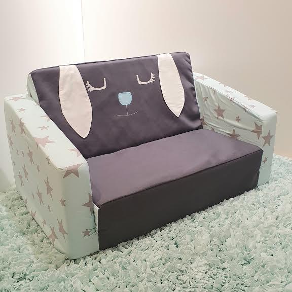 ספה לילדים דגם ארנבון ביישן