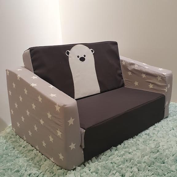 ספה לילדים דגם דוב קוטב