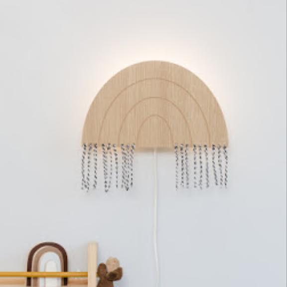 מנורת לילה לחדר ילדים דגם קשת