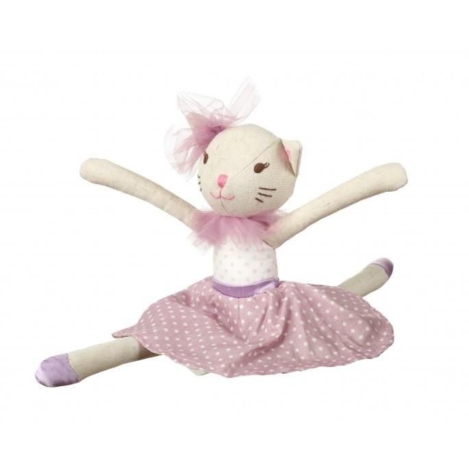 בובת בד רקדנית דגם חתולה