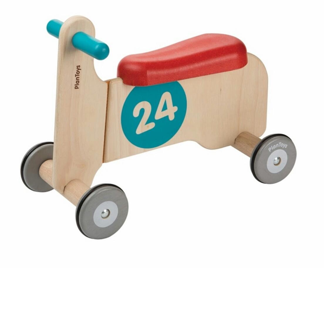 אופנוע מעץ בימבה לילדים