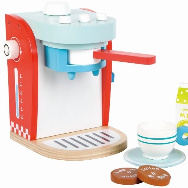 מכונת קפה לילדים מעץ