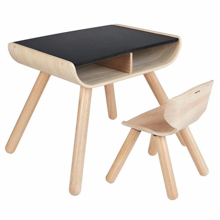 שולחן וכיסא לילדים סגנון נורדי