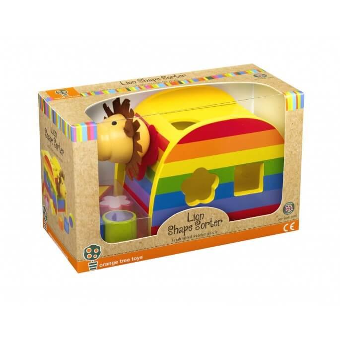 צעצוע קוביות התאם צורה אריה