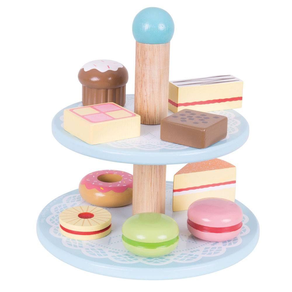 בטנד קומתיים לעוגות צעצועי עץ לילדים