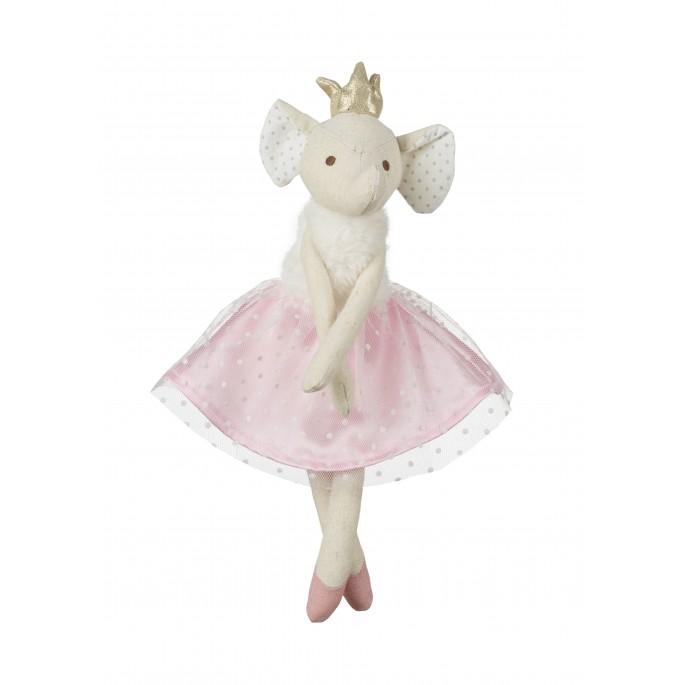 בובת בד רקדנית פיל בלרינה