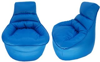 פופים לחדרי ילדים - גוון כחול