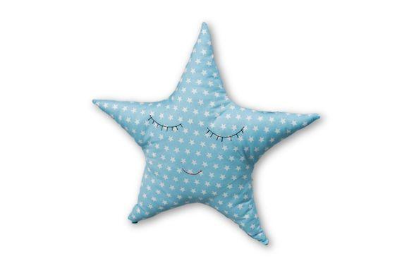 כוכב תכלת - כרית נוי
