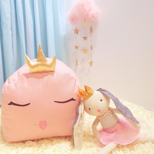 פוף לחדר ילדות פוף נסיכות