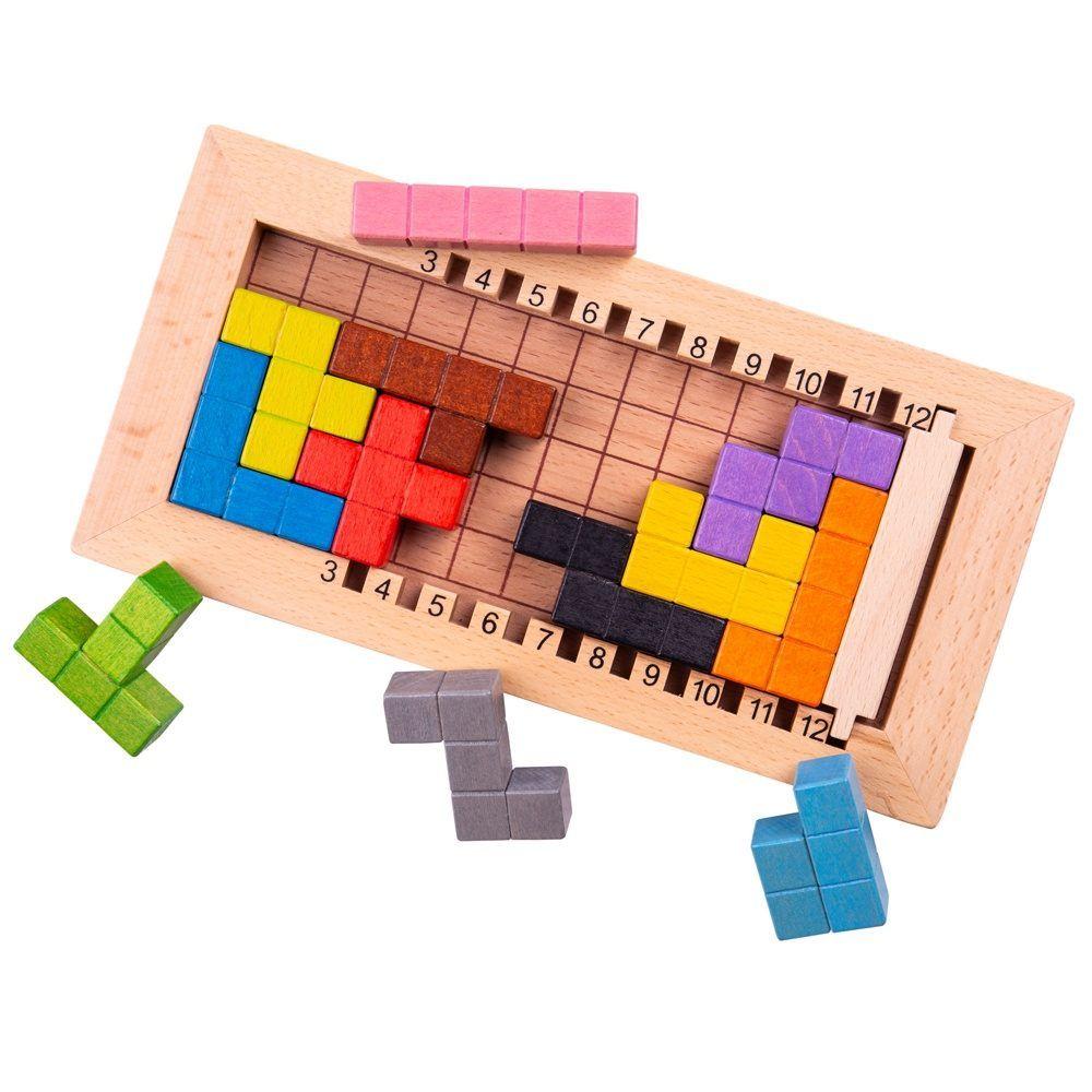 לוק א בלוק - משחק חשיבה מעץ Lock a Block