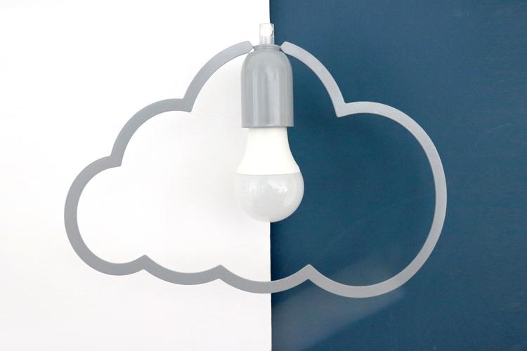 אהיל תיקרה ענן אפור