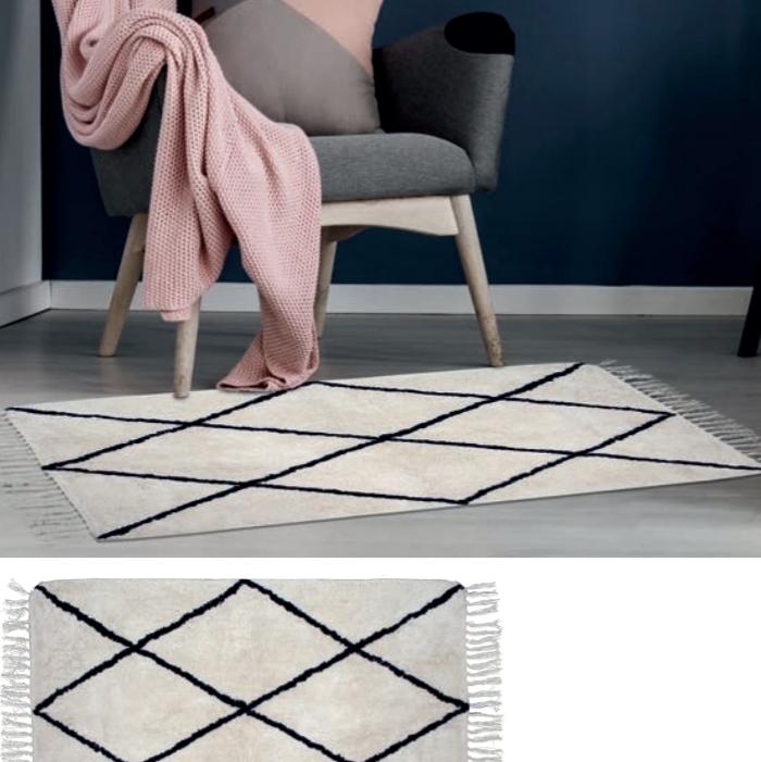 שטיח מעויינים נורדי