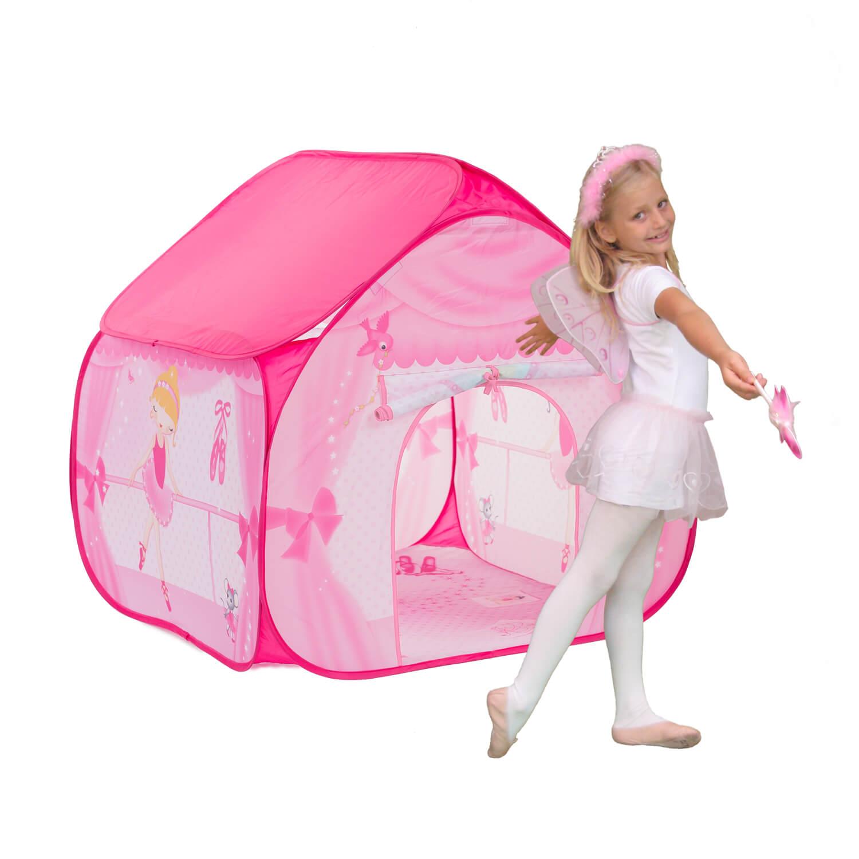 אוהל לילדים דגם בלרינה