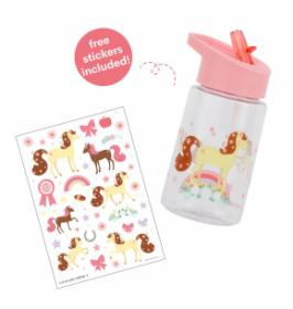 בקבוק שתיה לילדים דגם סוס