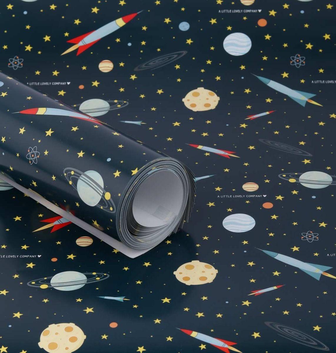 מארז נייר עטיפה דגם חלל