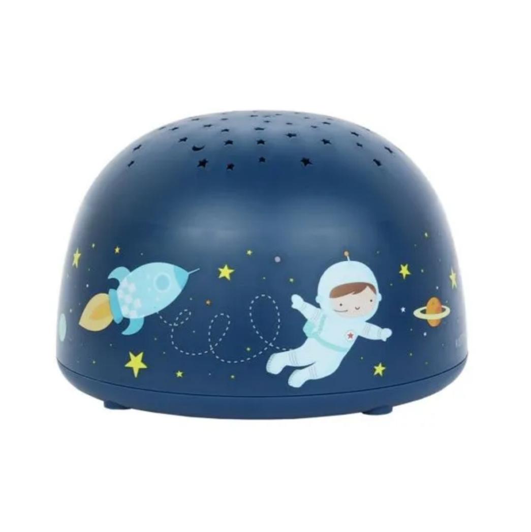 תאורה לחדר ילדים מקרן כוכבים  דגם חלל