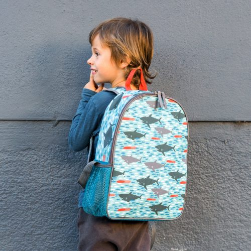 תיק גב לילדים תיק לכיתה א דגם כרישים
