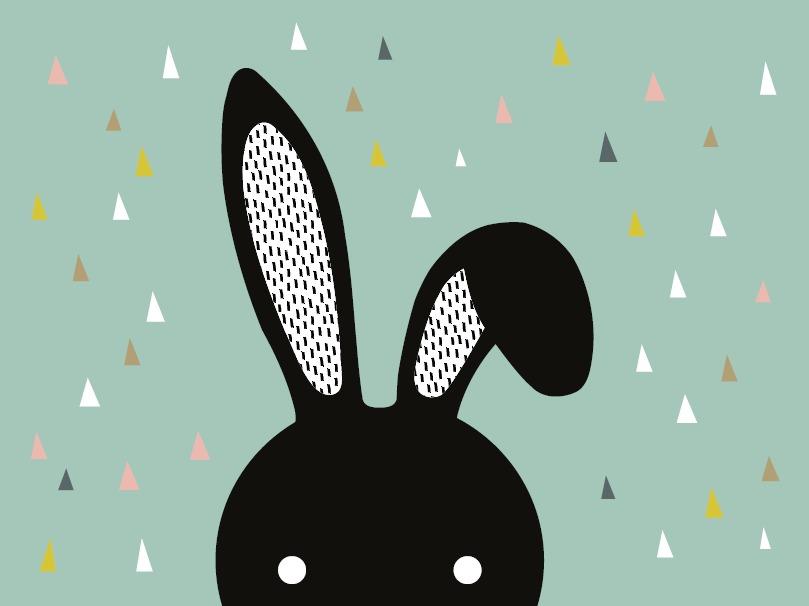 שטיח פי וי סי דגם דגם ארנב מיפי