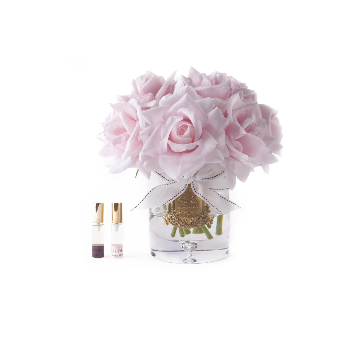 מפיץ ריח יוקרתי דגם זר פרחים ורוד