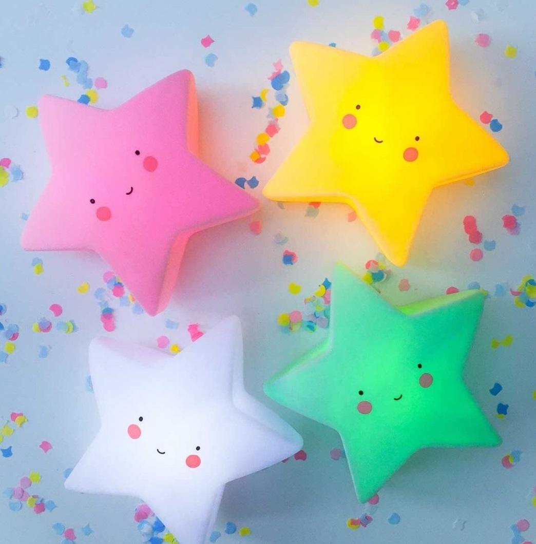 מנורת לילה כוכב תכלת  - תמונה 4
