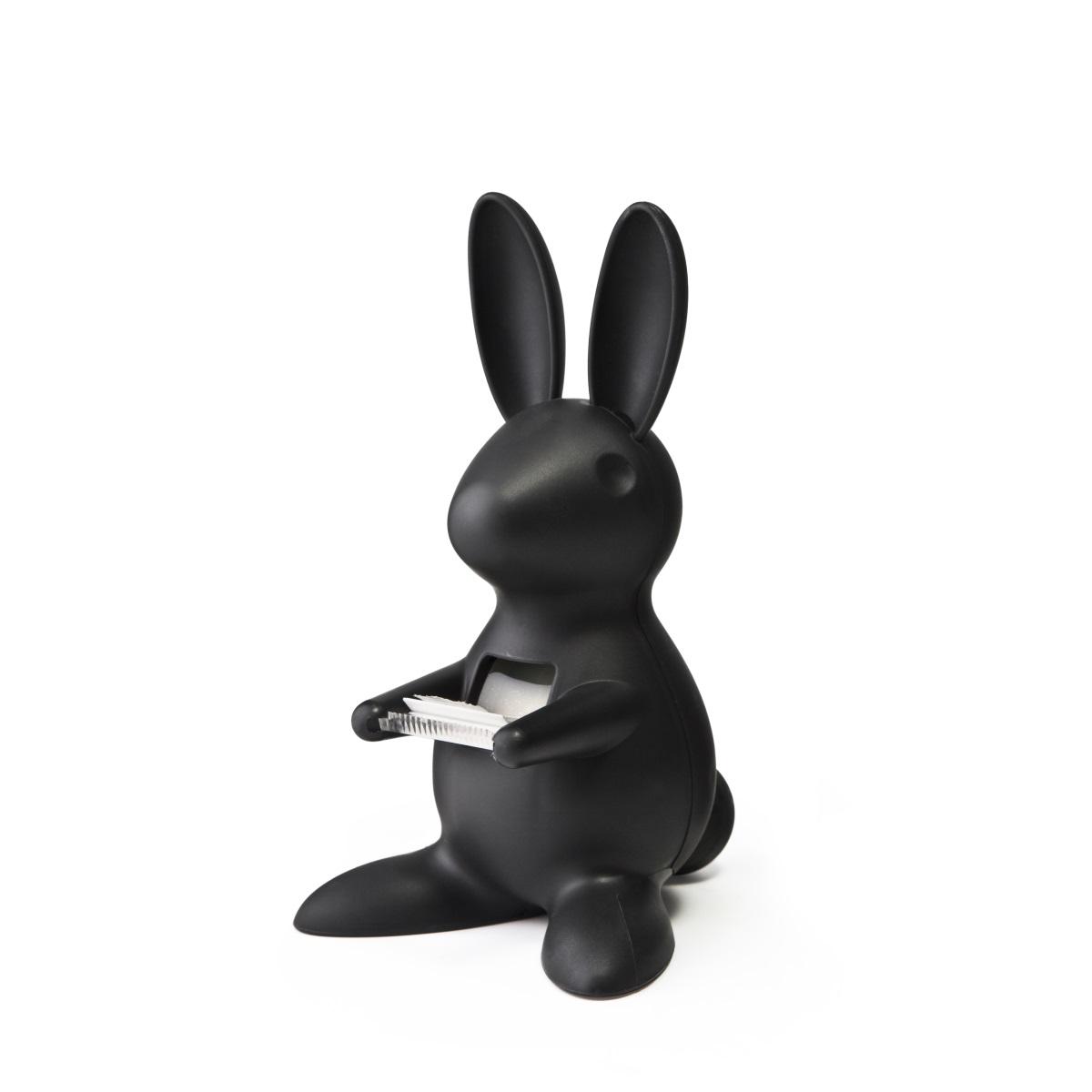חזרה ללימודים מתקן סלוטייפ שחור דגם ארנב