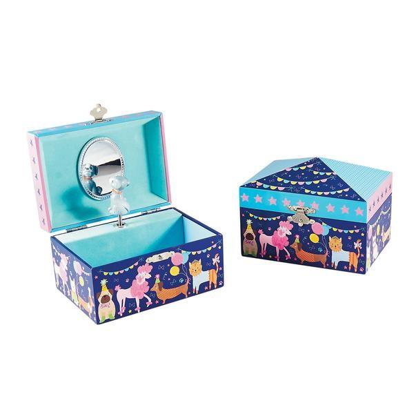 קופסת תכשיטים וקופסת נגינה חיות מחמד