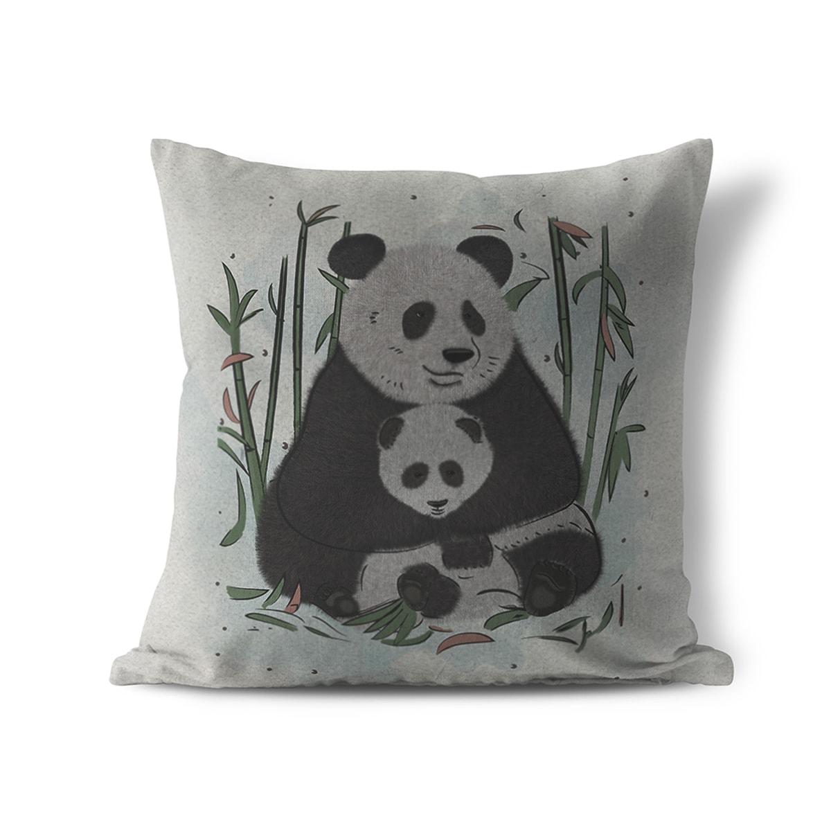 כרית נוי לחדר ילדים דוב פנדה