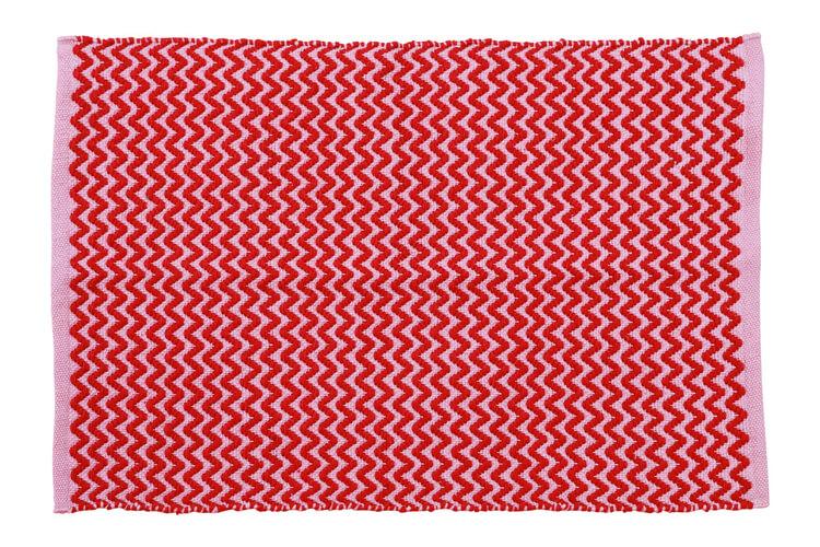 שטיח אדום זיגזג ראנר