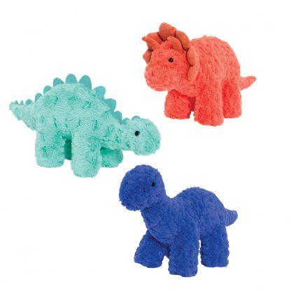 בובת בד דינוזאור הרב כחול