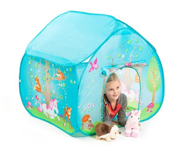 אוהל לילדים דגם היער הקסום