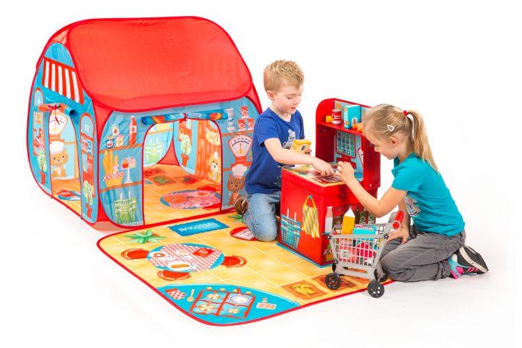 אוהל לילדים דגם מסעדה