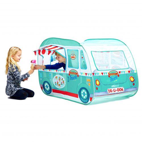 אוהל לילדים דוכן גלידה
