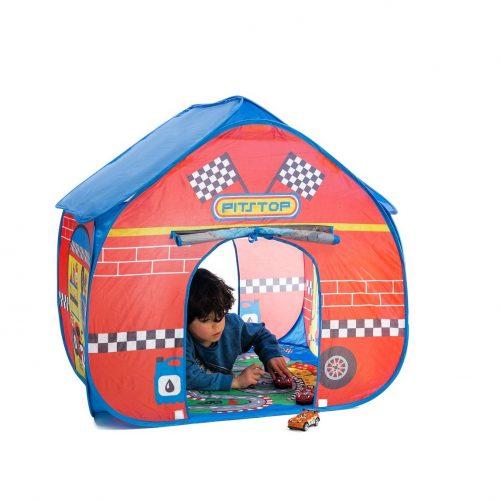 אוהל לילדים דגם מסלול מירוצים