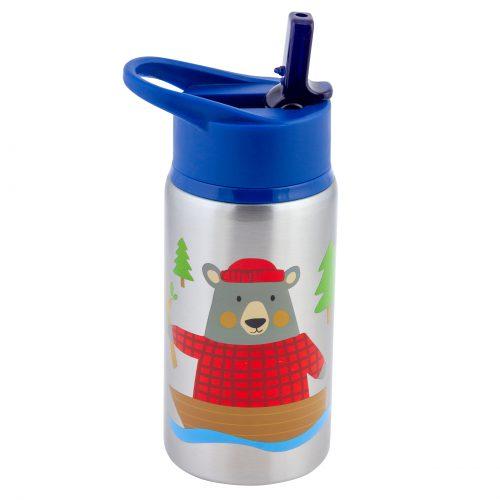 בקבוק שתיה טרמי דגם דוב יער