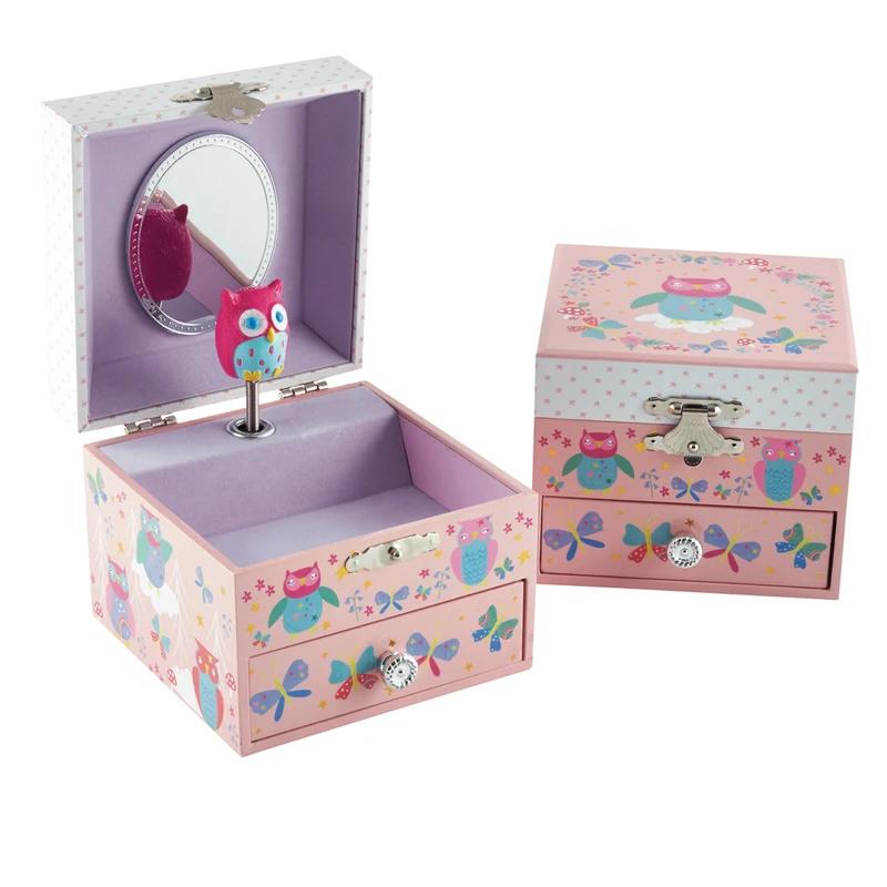 קופסת תכשיטים לילדה ינשוף