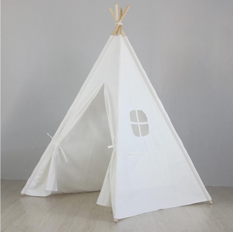 אוהל טיפי לבן