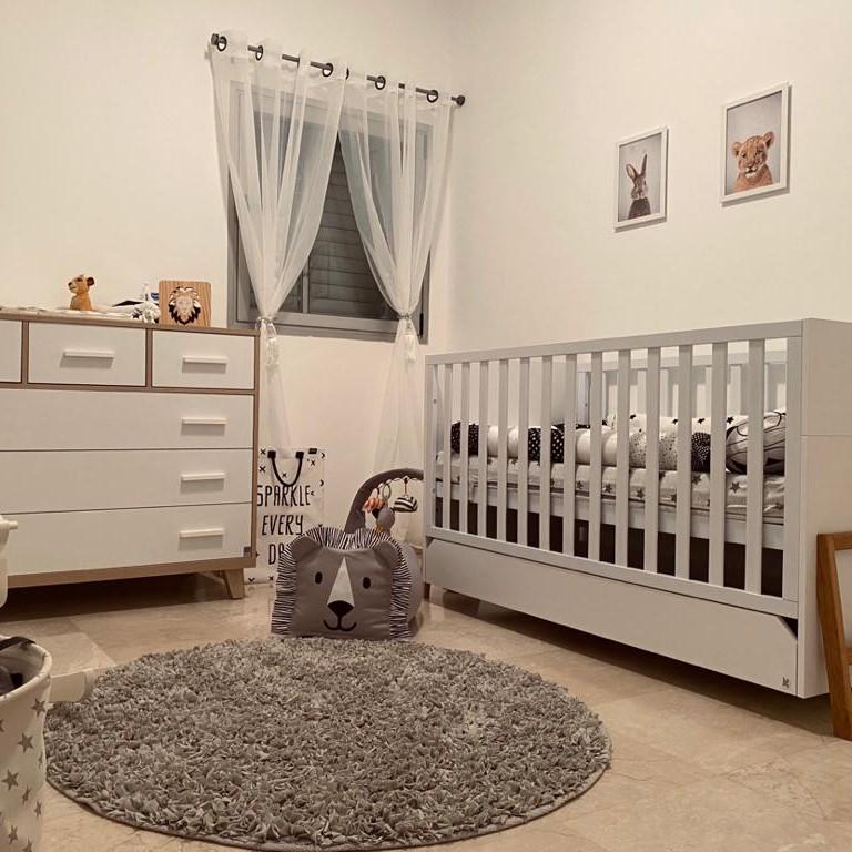 פוף לחדר ילדים דגם אריה