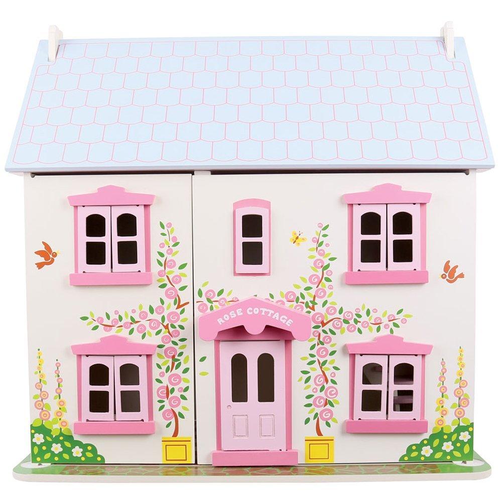 בית בובות מעץ המקורי של רוז