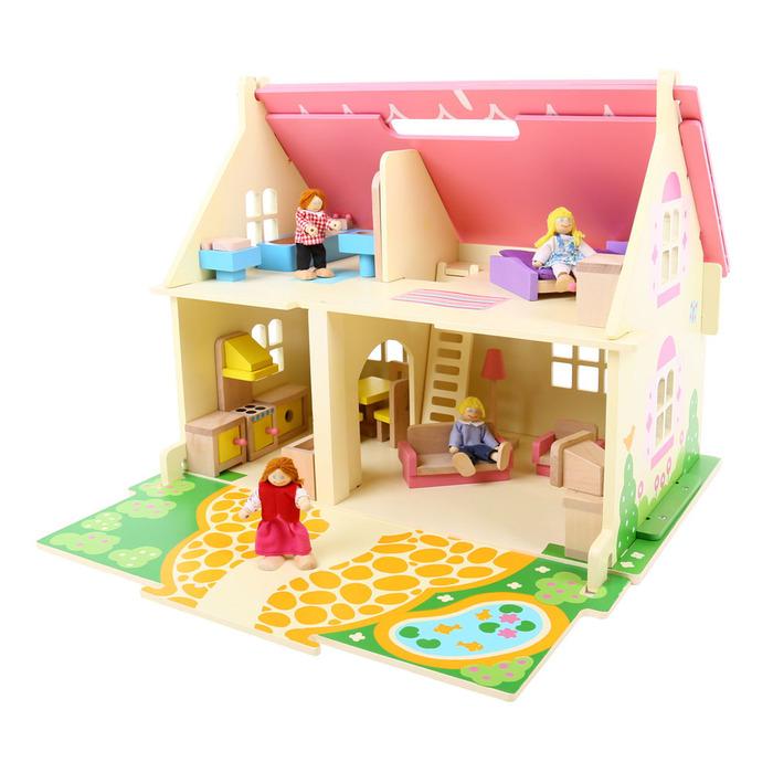 בית בובות לילדה דגם בלוסום